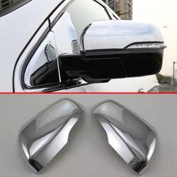ABS chromowana osłona lusterek bocznych wykończenia dla ford edge 2016 2017