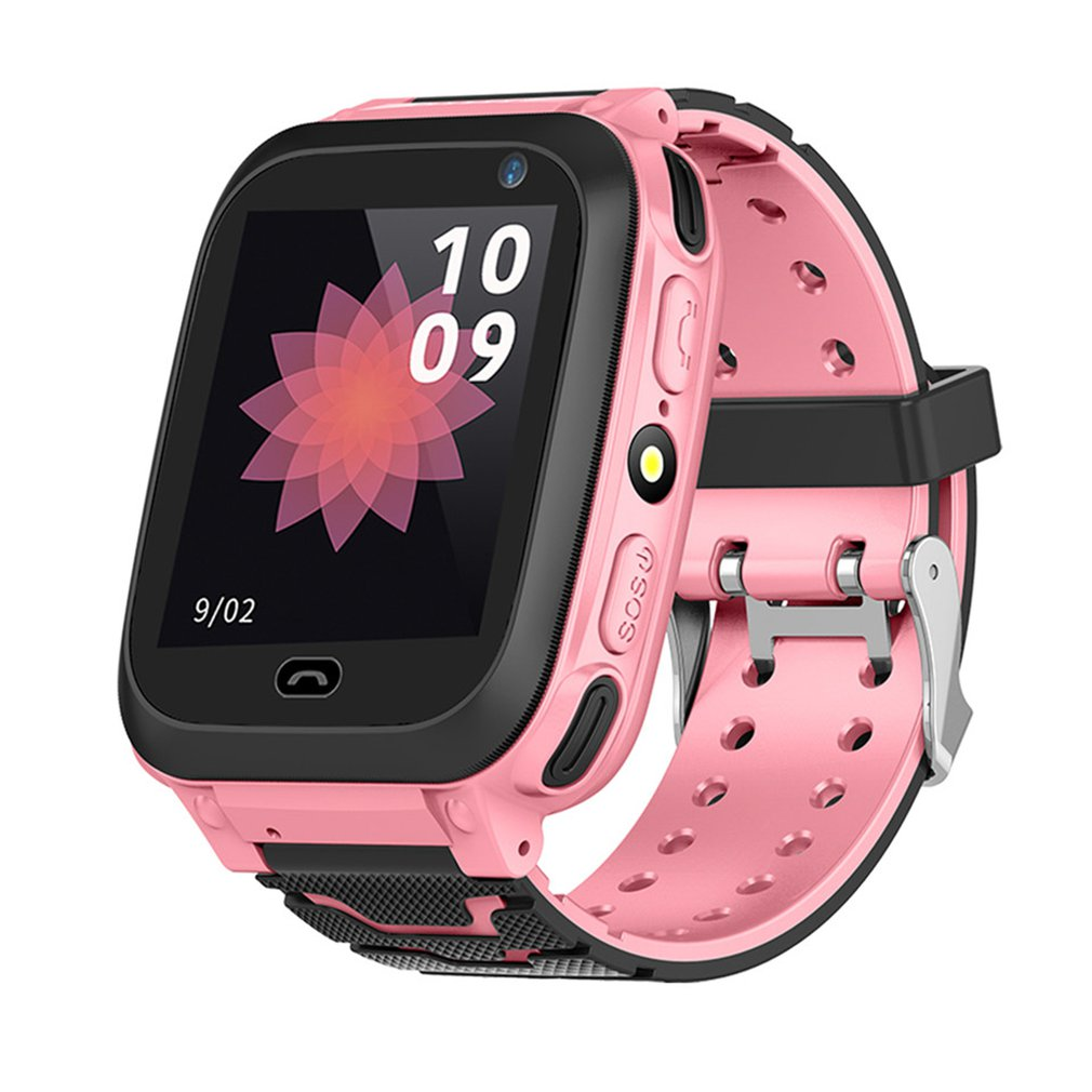 DS38 Anti Lost GPRS Positioning Smart Children's Watches SOS Smart Camera Phone Call Kids Smart Camera Clock Baby Boy Girls Gift