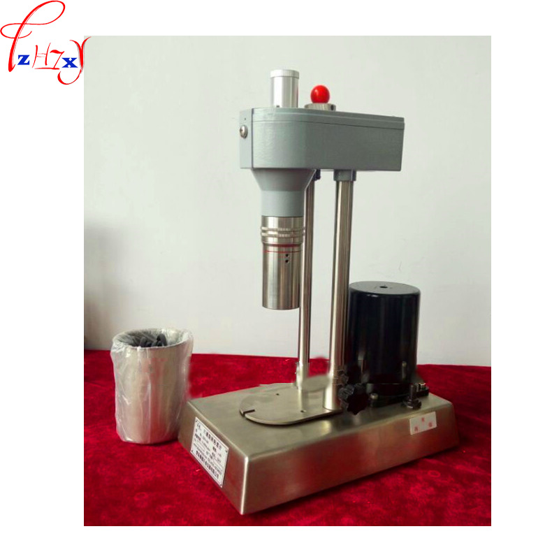 Six speed rotary viscometer ZNN D6 type mechanical stainless steel six speed rotating viscometer 220V 1PC