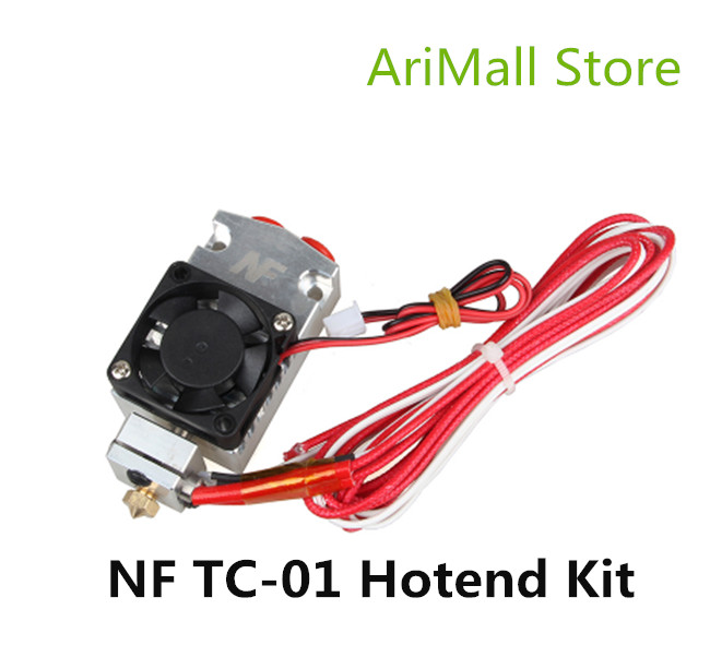 3D Printer Parts Multi color Extruder 2 in 1 out Hotend kit NF TC 01 Dual
