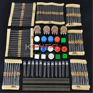 Handy Portable Resistor Kit for Arduino Starter Kit UNO R3 LED potentiometer tact switch pin header(China)