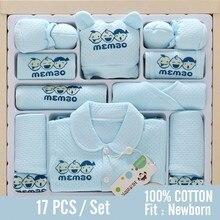 Осень-зима Толстая хлопковая одежда для маленького мальчика подарок для новорожденного, для младенца одежда для маленькой девочки комплекты шляпа нагрудник ансамбль bebe fille/одежда