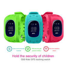 Smart Watch Kid Anti Lost GPS Smart Wristband Pedometer SOS Call Location Finder Tracker Monitor Baby Wristwatch For Boy Girl(China)