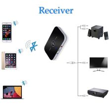 Bluetooth Audio Adapter-Bluetooth 4.1 Transmitter and Receiver, 2-In-1 3.5mm Wireless Audio Adapter Car Kit for TV / Home Ster