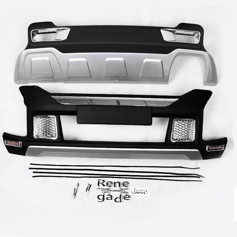 Renegade Bumper Replacements : Fit for jeep renegade  oem front rear bumper