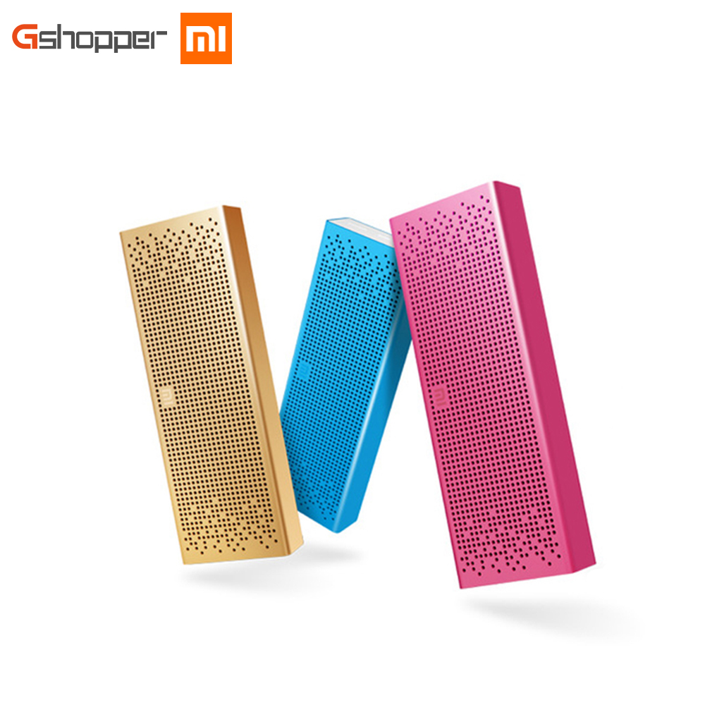 Original Xiaomi Mi Bluetooth Speaker Portable Wireless Mini Speaker Aux in BT4.0 for IPhone and Android Phones nillkin s bti1 ifashion mini portable wireless bluetooth v3 0 speaker w mic aux blue