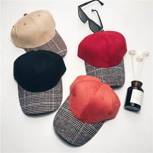 size 40 54d10 98546 2018 Autumn winter unisex hats baseball cap Suede snapback