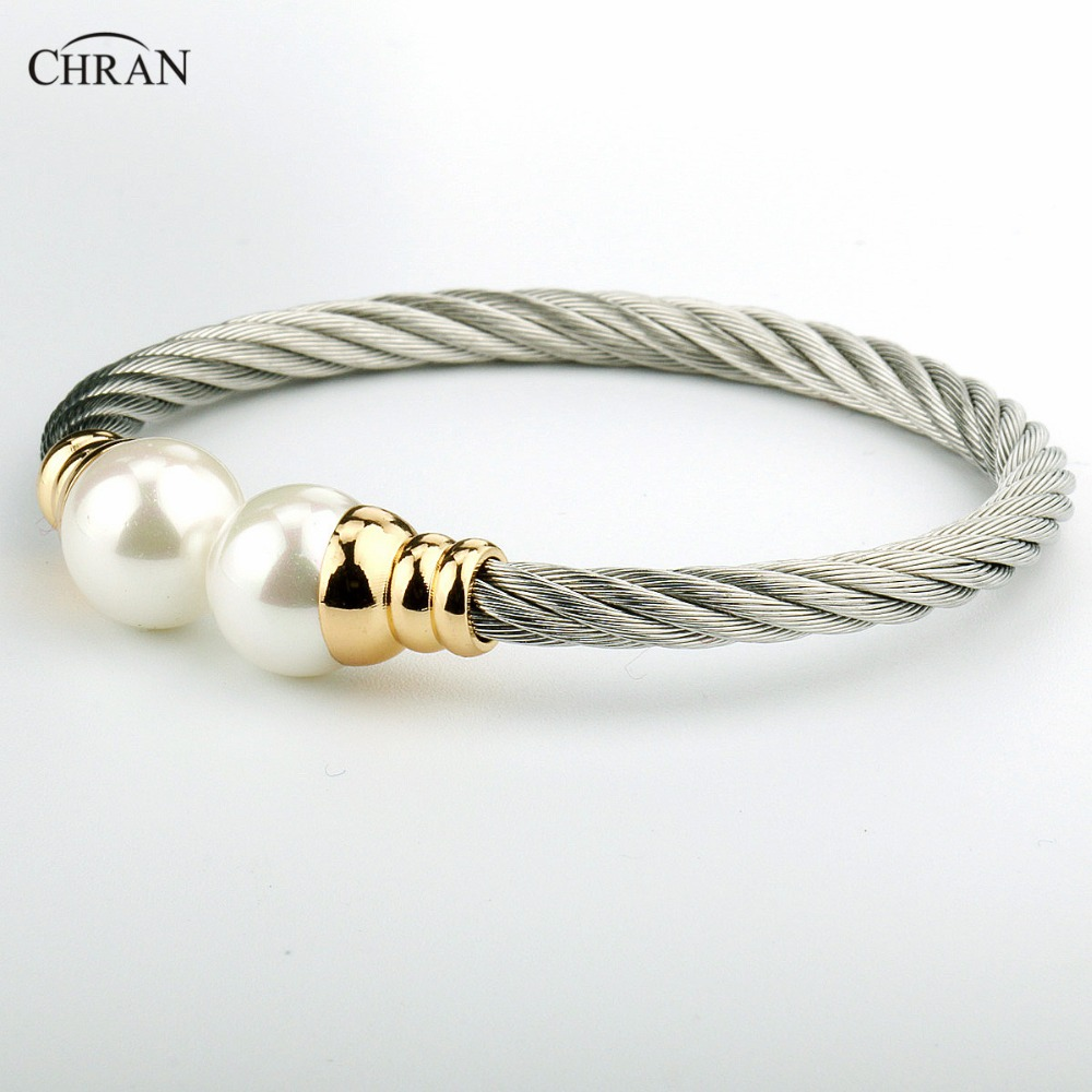 Chran Silver Plated Pearl Costume Brand Jewelry Promotion