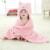 Forma Animal bonito do bebê com capuz toalha de banho do bebê receber cobertores de lã hold neonatal para ser Crianças crianças de banho infantil