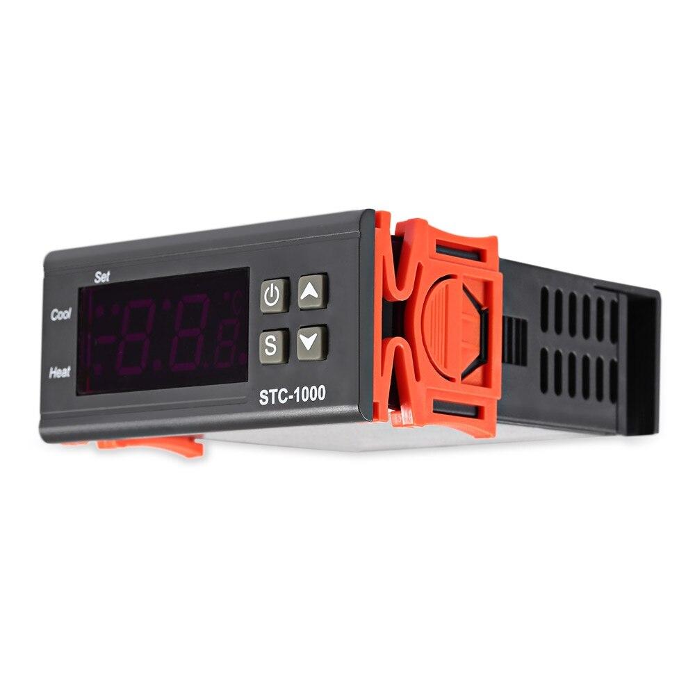 Digital Thermometer Aquarium Thermostat Temperature Regulator Thermal Tegulator for incubator Thermocouple -50~99 Degrees+Sensor цена 2017