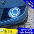 CDX styling car angel eyes faros de luz antiniebla para Skoda Fabia 2012-2014 año luz antiniebla LED LED Angel eyes LED luz antiniebla Accesorios