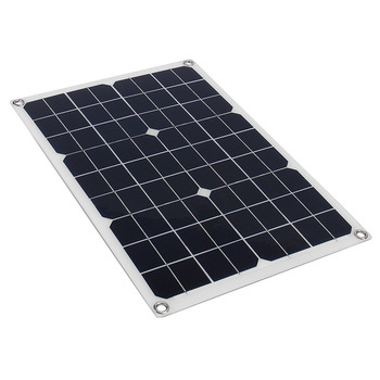 20W 12V 5V DC Waterproof Battery Solar Panel 5