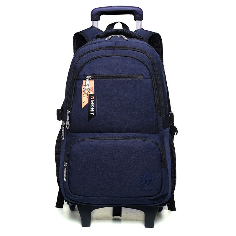 children Trolley School Backpack Wheels Travel Bag Schoolbag kids trolley  School Bags For Girls boys Detachable 49190e3d89
