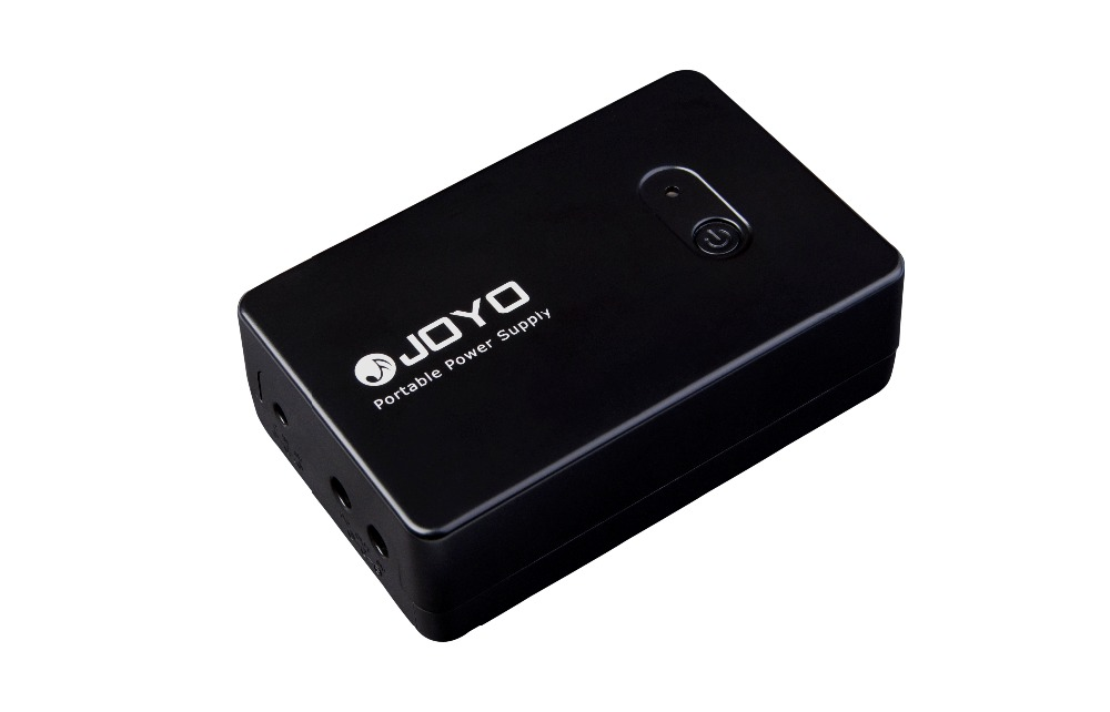 JOYO Electric Guitar Pedal Portable Power Supply JMP-01 Rechargeable Battery 2000mA output LED Power Level Alert 3 6v 2400mah rechargeable battery pack for psp 3000 2000