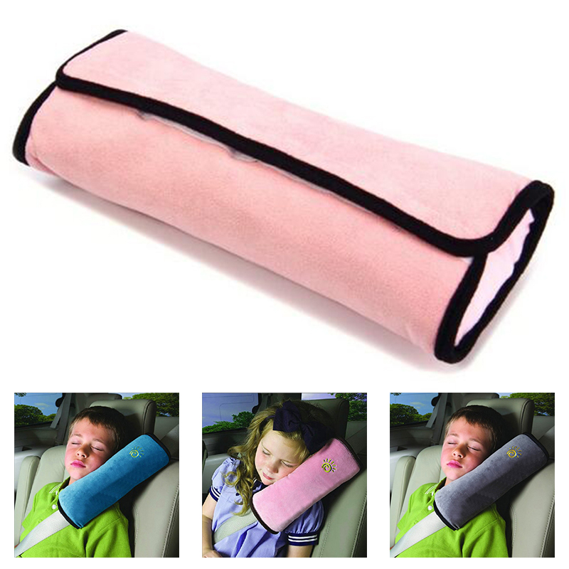 Do Promotion! Newest Kid Car Pillows Safety Seat Belt Shoulder Cushion Pad Protection Support Pillow ...
