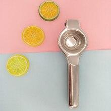JINJIAN Lemon Squeezer Stainless Steel Fruit Juice Reamers Fast Handle Press Multi-functional