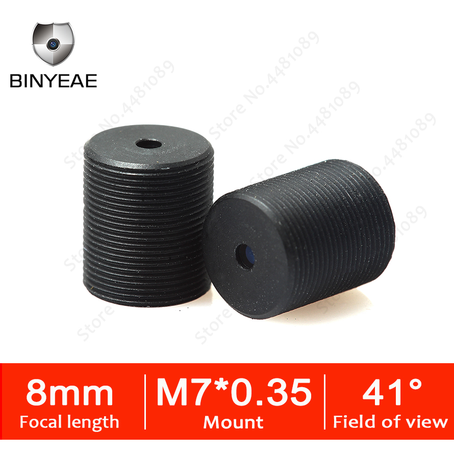 BINYEAE Pinhole lens for security mini camera High Definition cctv camera lens with M7 0 35