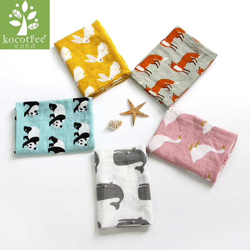 Baby Burp Cloths 60*60 Cm Organic Cotton Gauze Muslin Activity Baby Bib Handkerchief Baby Bibs Soft Newborns Towel Scarf