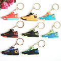 Mix 8PCS/lot Kids Durant Kd6 Key Chain Sneaker Keychain Key Chain Key Ring Key Holder for Woman and Girl Gifts Llaveros Mujer