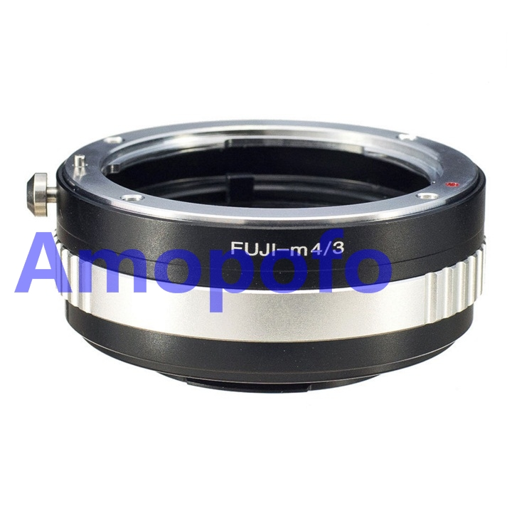 Amopofo Fuji-M4 / 3 Adaptörü Fujica AX Eski X Lens için Olympus MFT GH4 OM-D G6