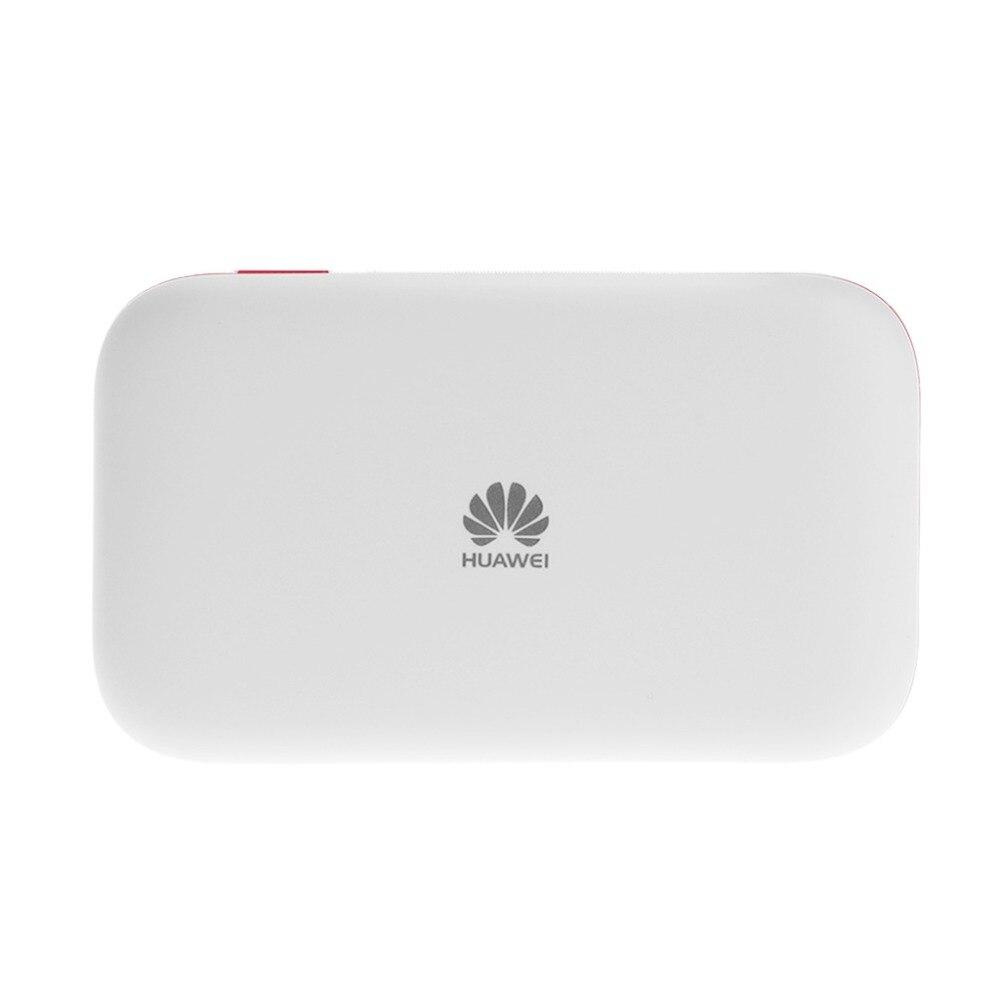 Débloqué E5577Cs-321 150 Mbps 4G LTE & 43.2 Mpbs 3G Mobile WiFi Hotspot poche WiFi routeur blanc Portable