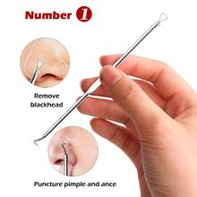 BellyLady 4 Pcs/set Acne Removal Needle Blackhead Remover Stainless steel Treatment