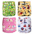 Reusable Diapers Potty Training Pants Prefold Cloth Diaper Grow with Babies Pannolini Lavabili for 6.5 - 35 Pounds