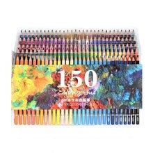 150 Цвета мягкие акварельные карандаши Дерево водорастворимые цветные карандаши набор для Ляпис De Cor живопись Эскиз школа товары для рукоделия