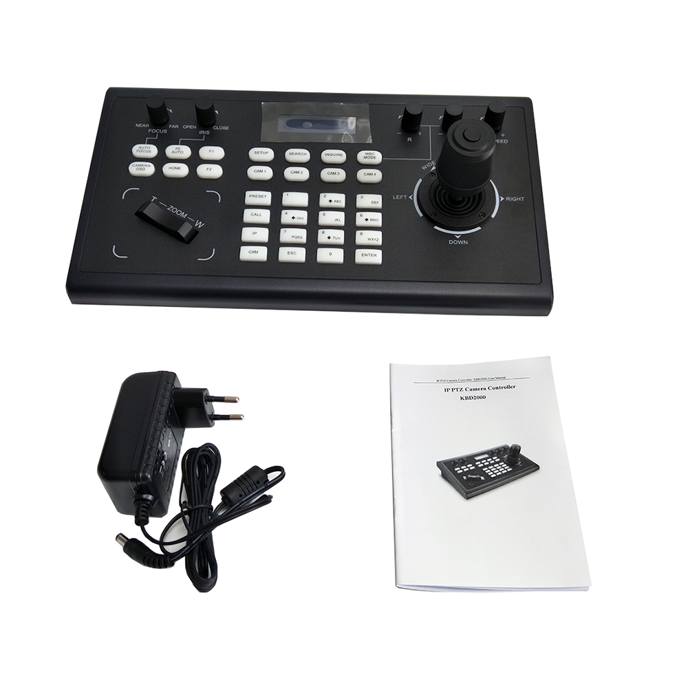 Image 5 - Video Conferencing Network Keyboard Controller joystick RS485/232 RJ45 Ports PelcoD VISCA for HDMI SDI IP Conference CameraCCTV Control System   -
