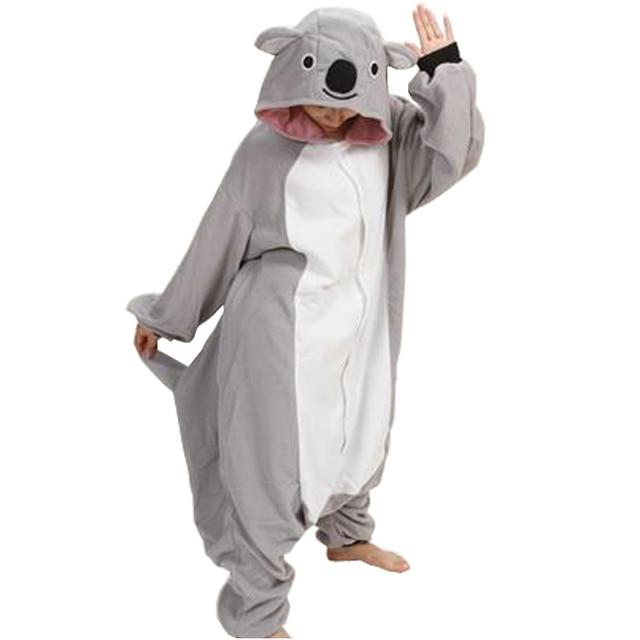 64e0b6086 Anime Pijama Cartoon Unisex Adult Koala Pajamas Cosplay Costume ...