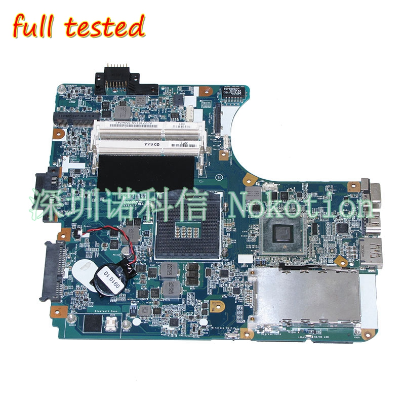 NOKOTION A1771573A For Vaio VPCEB laptop motherboard MBX-223 M960 1P-009CJ01-6011 HM55 DDR3 Main board full test a1794333a main board fit for sony vaio vpceb motherboard m961 mbx 224 ddr3 hm55 100