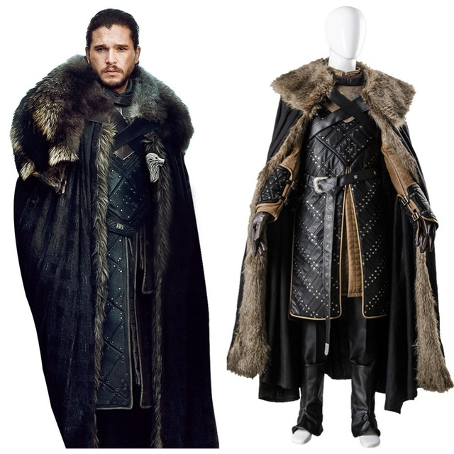 Bekam 7 Game Of Thrones Saison 7 Cosplay Jon Snow Kostüm Outfit