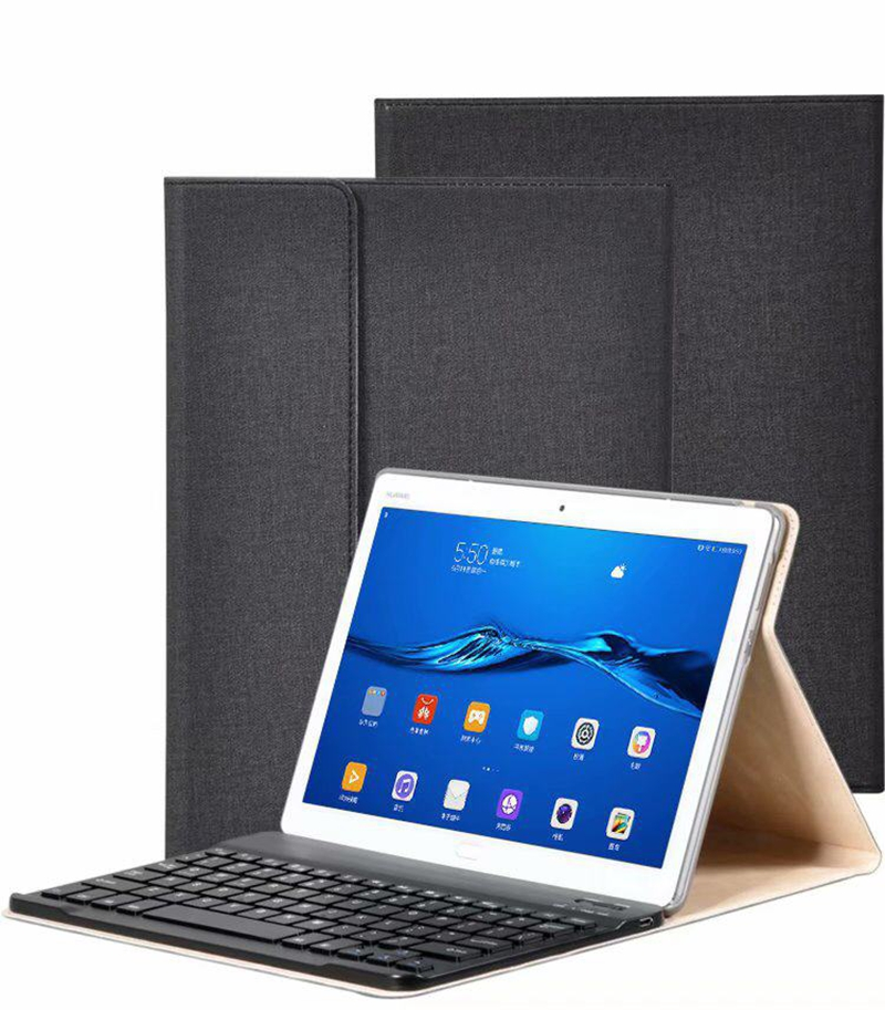 Wireless Bluetooth Keyboard PU Leather Cover Protective Case For Huawei Mediapad M3 Lite 10 BAH-W09 BAH-AL00 10.1 Inch Tablet