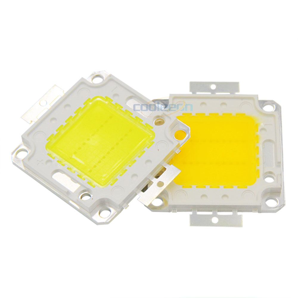 Full Watt 10W 20W 30W 50W 100W COB LED For Project Flood Light LED Floodlights Lighting Source With AC To DC Driver 30V COB Chip