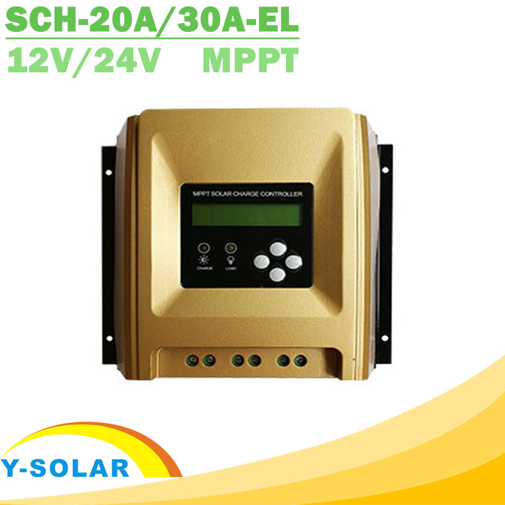12V 24V MPPT Solar Charge Controller with Heatsink Cooling Design  High Eficiency Solar Controller 20A 30A Optional New Arrival cheap saipwell high power solar charge controller 12v 50a smg50