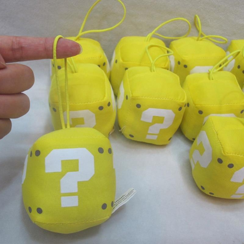 Question Mark Plush Pendant Soft Stuffed Toys Dolls