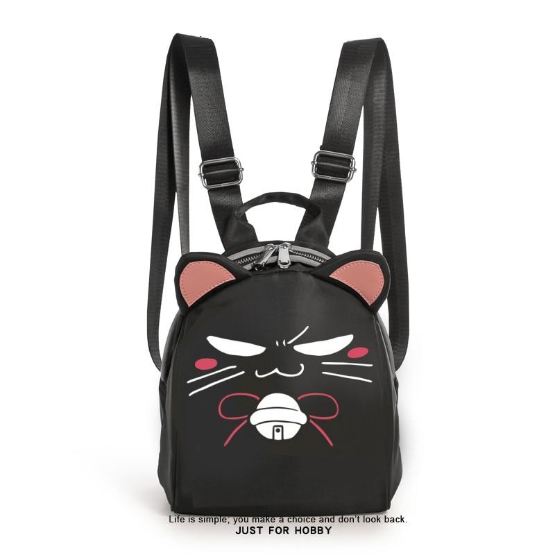 Anime Dakaretai Otoko 1-i ni Odosarete Imasu. Cosplay Shoulders Backpack Student School Bag Cat Ear Itabag Water-Proof Handbag