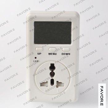 single phase plug in digital Kwh meter UK version