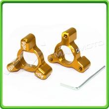 14x18mm 14*18mm Ouro da Mola da Forquilha Preload Ajustadores Para Honda CBR 600 F2, F3, F4, F4I 1987 1988 1989 1990 1991 1992 1993 1994 1995