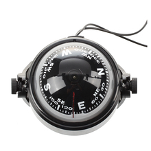 LED Floating Magnetic Compass Compass Navigation Car Auto Marine
