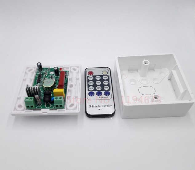 Бесплатная доставка 110 В 120 В 220 В 240 В 300 Вт 8A ИК-датчик ШИМ Симисторные светодио дный диммер для E27 GU10 затемнения Точечные светильники
