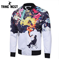TANGNEST Fashion Design Jacket 2017 Hot Sale Casual Slim Men Jacket Spring Autumn Zipper Veste Homme Asian Size XXXL MWJ2351