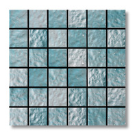 SW SI L7A Porcelain Mosaic For Swimming Pool Swimming Pool Mosaic Blue Pool Mosaic