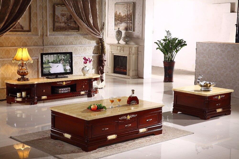 antiguos de madera juego de sala mesa soporte de la tv muebles hechos en