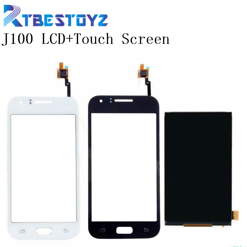 RTBESTOYZ Original LCD <font><b>Display</b></font> + Digitizer Touch Screen Replacement Parts For <font><b>Samsung</b></font> Galaxy J1 J100 <font><b>J100H</b></font> J100F image
