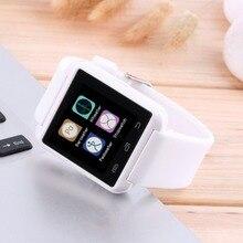 Smartwatch Bluetooth Pantalla Táctil LCD deporte relojes Reloj de Pulsera Reloj de Pulsera para IOS Android Teléfono Inteligente Dispositivo Portátil