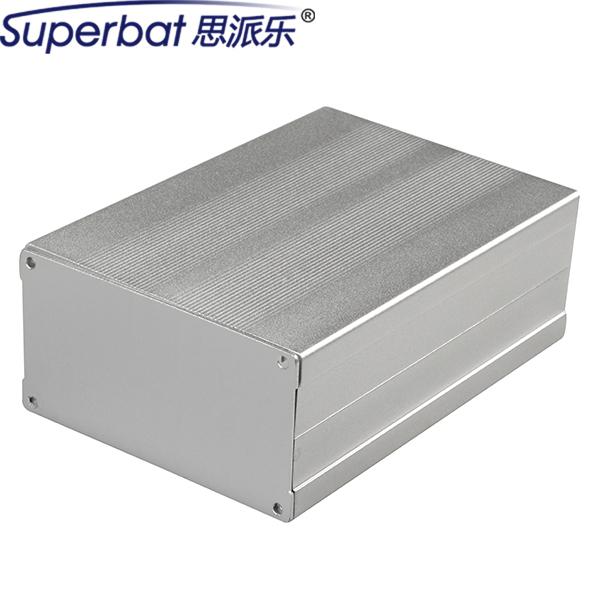 """Superbat 150*105*55 Gran Caja del Instrumento Caja De Aluminio Extruido Electrónico PCB Amplificador DIY Case 5.91 """"* 4.13"""" * 2.17 """"(L * W * H)"""