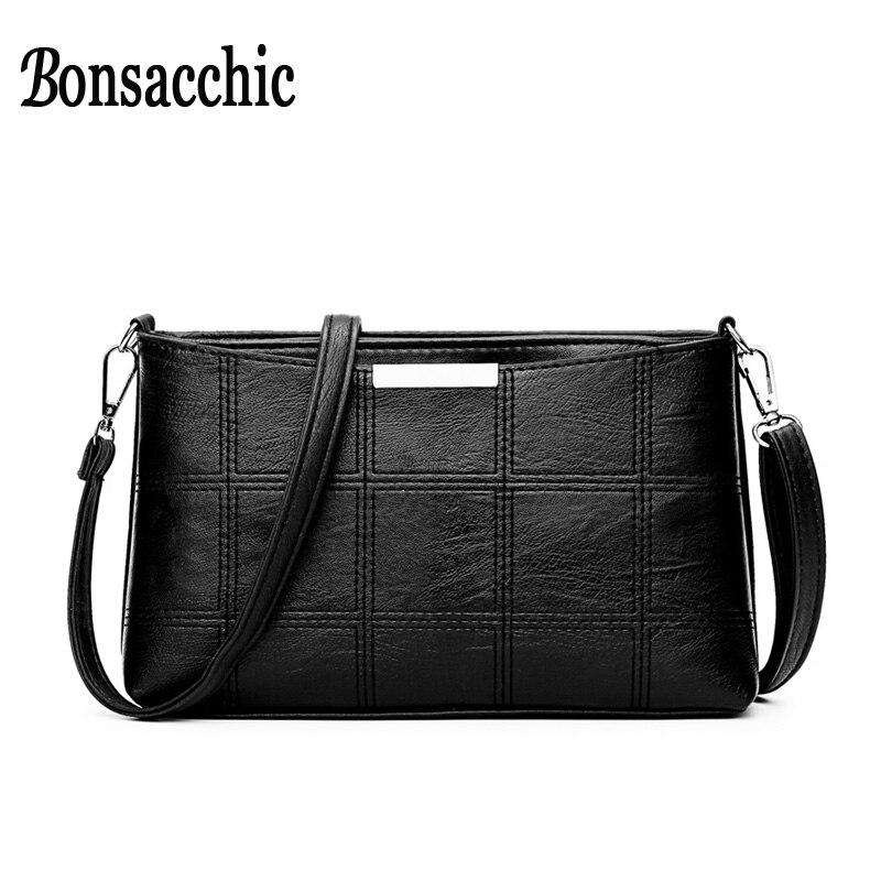 Bonsacchic Small PU skórzane torby damskie torba na ramię