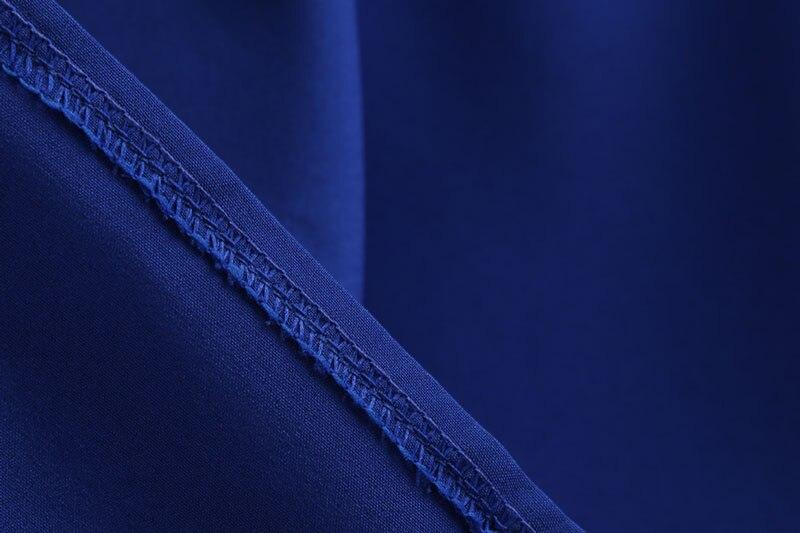 Blue Vintage Swing Dress 107