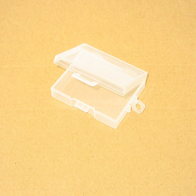 Mini caja transparente de PP para Mini funda pequeña portátil de pintura sólida de acuarela
